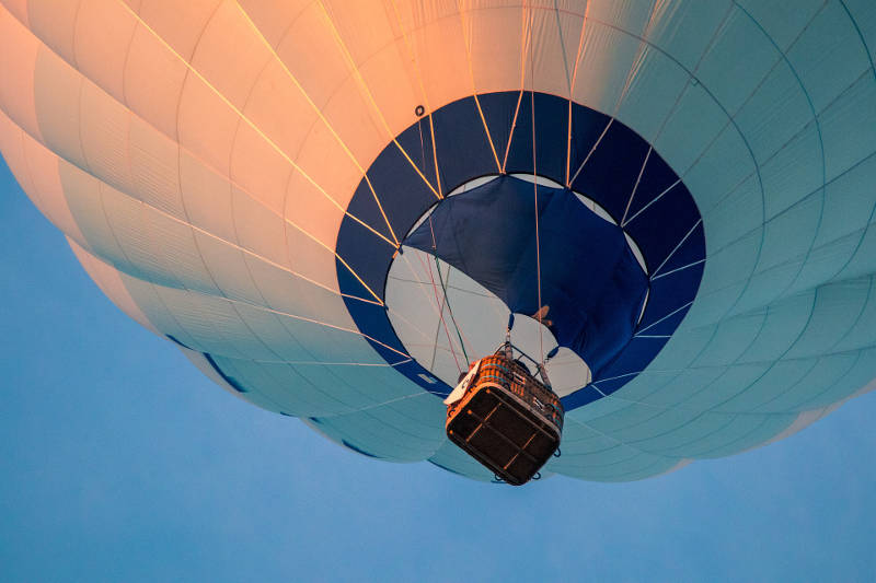 Father's Day Gift Ideas - Hot Air Balloon
