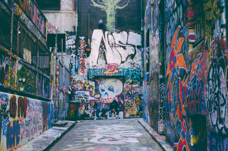 Things to do in Melbourne - Laneways Street Art